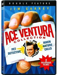 Brand New WS DVD Ace Ventura: Pet Detective / When Nature Calls (2009) 2 DVDS