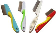 New Metal Fine Nit Hair Comb With Handle Removed Head Lice And Egg Effectively