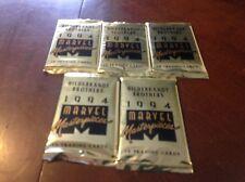 (5) Unopened Sealed Pack 1994 Marvel Masterpieces Hildebrandt Brothers