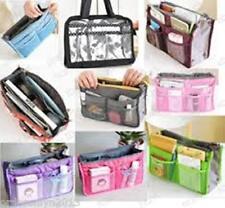 Travel Purse Gadget MakeUp Cosmetic Toiletry Kit Bag Organizer (Choco Brown)