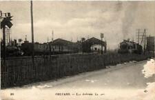 CPA ORLÉANS Las Aubrais La Gare (608423)
