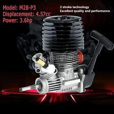 NEW SH M28-P3 4.57cc 2-stroke Pull Start Engine for 1/8 Nitro RC Car