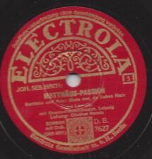 Tiana Lemnitz sing Matthäus Passion -Thomaner Chor Leipzig Günther Ramin 1941