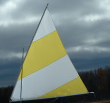 Sail, Spars and Mast for Super Snark or Sea Snark or DIY boat -- 45 SF