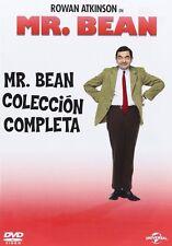 Pack Mr. Bean - Temporadas  1 2 3 4 DVD NUEVO MR VERSION ESPAÑOLA
