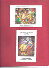 AN EMBARRASSMENT OF RICHES AND TILL DEATH DO US PART BARKS MINI LITHOGRAPHS