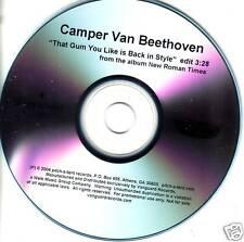 CAMPER VAN BEETHOVEN Gum you TST PRESS PROMO CD Cracker