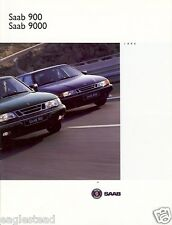 Auto Brochure - Saab - 900 9000 Series - Canadian Edition - 1994 (AB56)