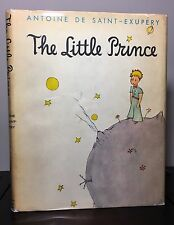 THE LITTLE PRINCE by Antoine de Saint-Exupery~1st Harcourt Brace~1943~$3.75~VG+