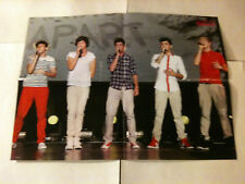 "ONE DIRECTION - Australian 2 Sided 'Girlfriend' Magazine Poster 22"" x 16"""