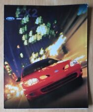 FORD ZX2 orig 2000 USA Mkt sales brochure poster