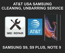 AT&T USA IMEI Cleaning, Unbarring Service for Samsung S9, S9 Plus, Note 9
