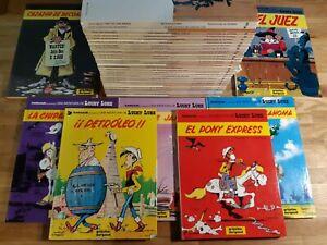 COLECCION COMICS LUCKY LUKE GRIJALBO DARGAUD TAPA DURA