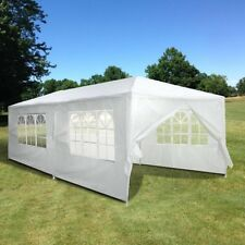 Party Wedding Tent Canopy Outdoor Patio Gazebo Removable Wall Cater White 10x20'