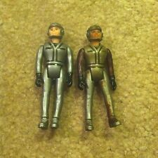 "Vintage Laser Force Pilot 3.5"" Action Figure 1983 Gay Toys Lot 2"