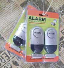 Window Door Alarms 4 Pack NOOPEL Pool Alarms for Doors Magnetic Entry Sensor