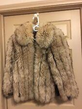 Vintage Designer Dino Ricco Lamb Fur Coat Jacket Medium