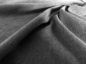 Polsterstoff Möbel Webstoff Strukturstoff Meterware Fleckschutz weich schiefer