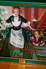2000 Victorian Holiday Barbie and Kelly Dolls/New Never Removed/Minor Box Damage