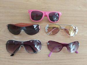 5 Pairs Of Girls Cute Sunglasses Childrens Size inc Monsoon
