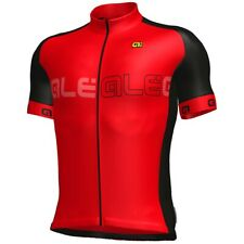 ALE Short Sleeve Cycling Jersey Red / Black XXL New RRP £59.99
