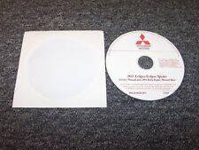 2011 Mitsubishi Eclipse & Spyder Shop Service Repair Manual DVD GS Sport GT