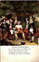 "VINTAGE - ""THE PURITAN"" - POSTCARD - RARE PC - POSTED ENGLAND"