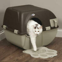 Self Cleaning Improved Automatic Cat Litter Box Kitty Toilet Pull Scoop Regular
