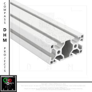 Profilo in alluminio 30x60 Serie 6 3060 4 cave 8 mm profilato estruso CNC