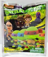 1 NEW TMNT TEENAGE MUTANT NINJA TURTLES 3-D FIGURAL KEYRING KEYCHAIN BLIND BAG ¤