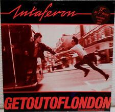 INTAFERON - Get out of London - Maxi LP (12 inch) Original 1983 - rare - Top