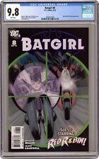 Batgirl #8 CGC 9.8 2010 2089347009