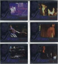 Smallville Season 4 Complete Switchcraft Chase Card Set CW1-6