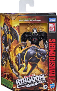 TRANSFORMERS WAR FOR CYBERTRON KINGDOM DELUXE SHADOW PANTHER IN STOCK