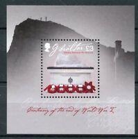 Gibraltar 2018 MNH WWI WW1 End of World War I 1v M/S Military Stamps
