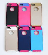 For Apple iPhone 5 SE 5S Hybrid Rugged Rubber Hard Shockproof Skin Case Cover