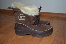 NWT Womens SOREL Tivoli III Tobacco Brown Short Waterproof Boots Size 6