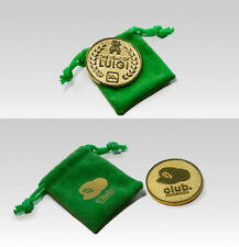 Club Nintendo THE YEAR OF LUIGI 30TH ANNIVERSARY COIN with POUCH