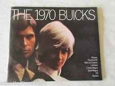 1970 BUICK RIVIERA SKYLARK LESABRE ELECTRA GS 455/CONVERTBLE SALES BROCHURE