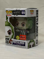 Funko Pop NYCC Official Sticker Exclusive : Beetle Juice GITD  #1010