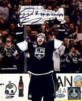 Drew Doughty Los Angeles Kings Autographed Official Game Puck with2016 Norris Inscription Fanatics Authentic Certified