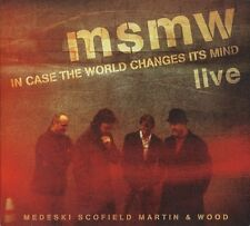 MSMW Live: In Case The World Changes It's Mind 2011 US 2-CD digipak NEW/SEALED