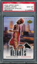 2003 Upper Deck City Heights LeBron James Rookie Card Graded PSA 10