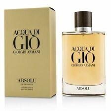 ACQUA DI GIO ABSOLU GIORGIO ARMANI 125ML EDP MEN NEW SEALED BOX.