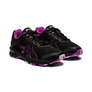 NEW ASICS Women's Gel Netburner Professional  - Black/Purple (RRP$170) Clearance
