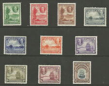 ANTIGUA SG81-90 THE 1932 GV SET OF 10 FRESH MOUNTED MINT CAT £225