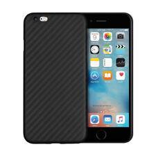 cover custodia iPhone 6 e 6s ultra slim carbon look fibra di carbonio nera 0.3mm