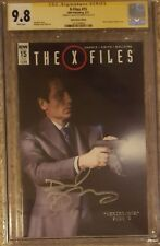X-Files #15 photo cover variant__CGC 9.8 SS__Signed by David Duchovny