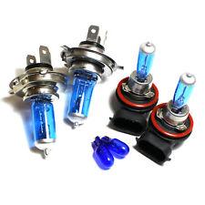 For Nissan Tiida 55w Super White Xenon HID High/Low/Fog/Side Headlight Bulbs Set