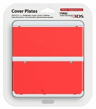 Nintendo 3DS Cover plate Kisekae plate No.011 Red